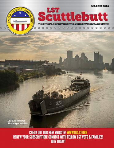 4 2 Scuttlebutt Issue 6 March 2016 COVER