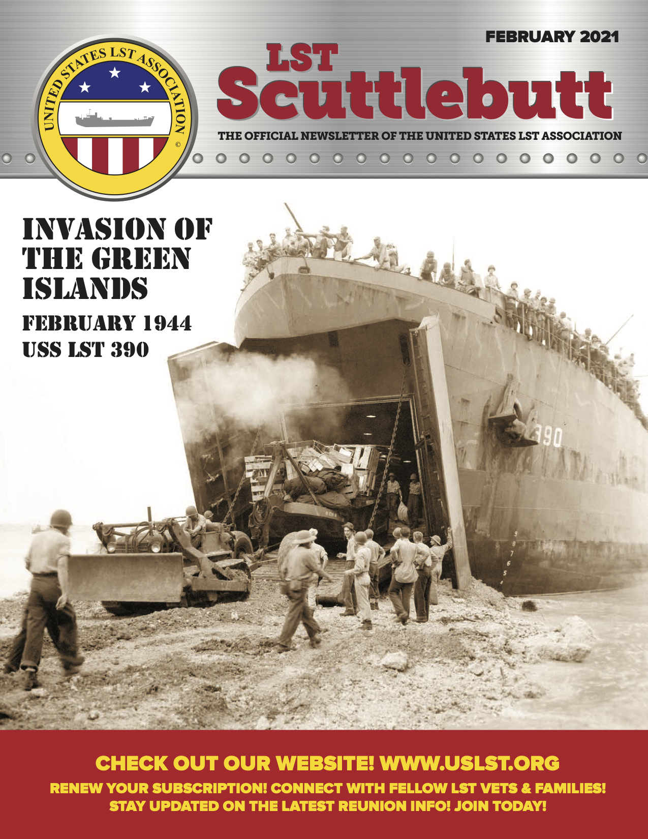 LST SCUTTLEBUTT February 2021 COVER