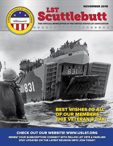 Scuttlebutt Issue 17 November 2018 COVER