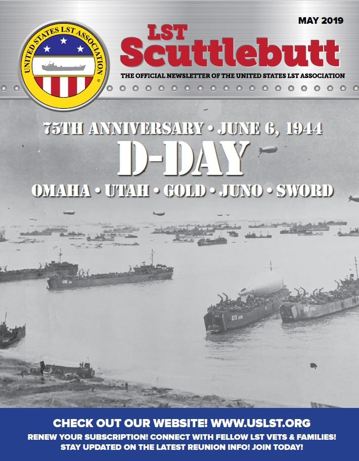 Scuttlebutt Issue 19 May 2019 COVER