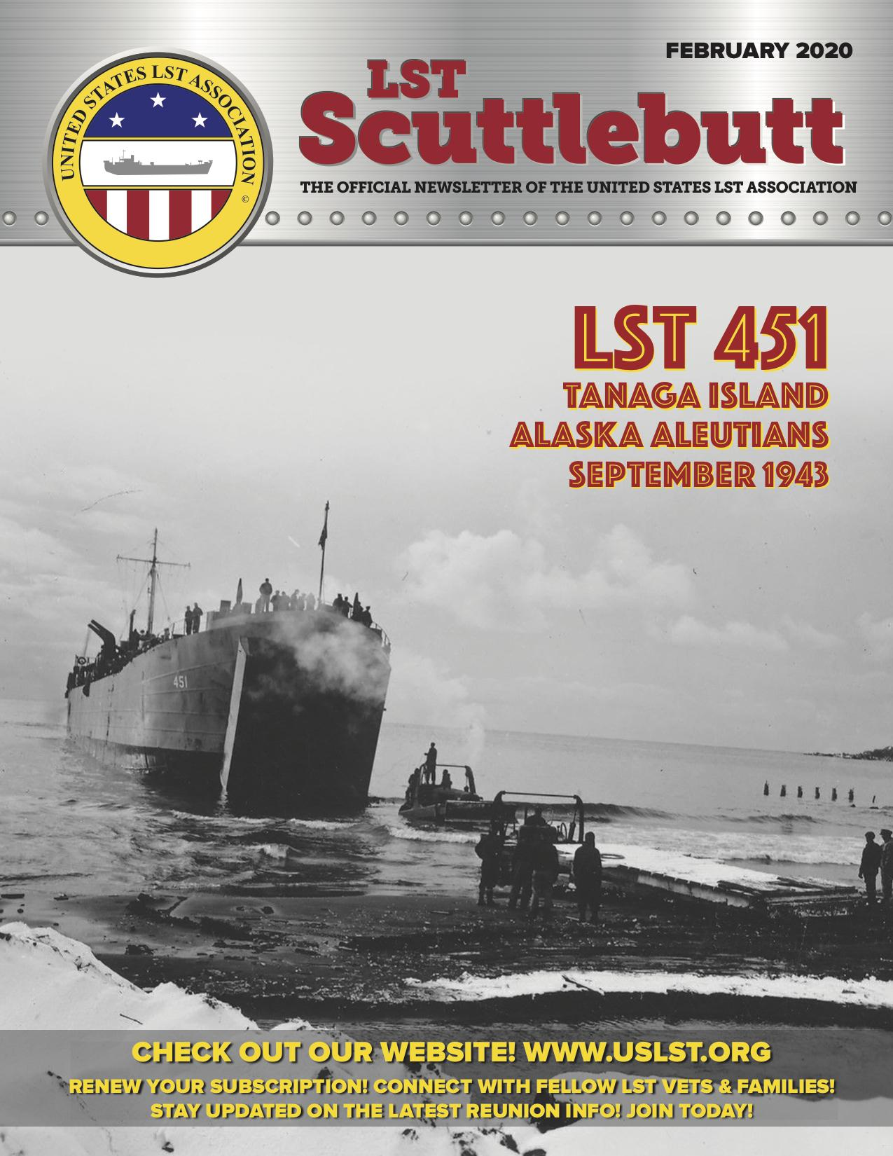 Scuttlebutt Issue 22 February 2020 COVER