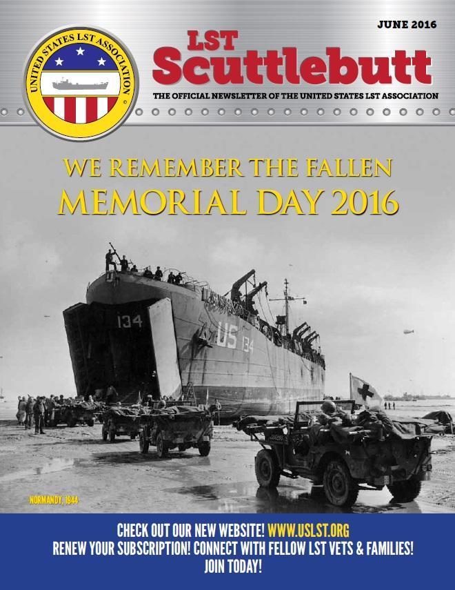 Scuttlebutt June 2016 COVER
