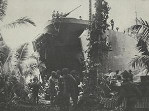 LST in the South Pacific