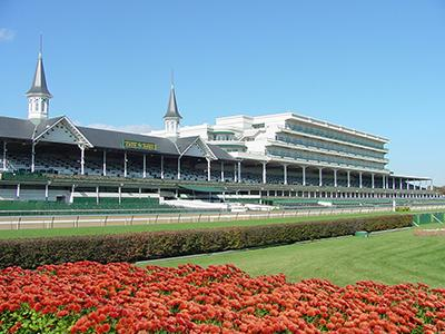 Churchill Downs First Turn